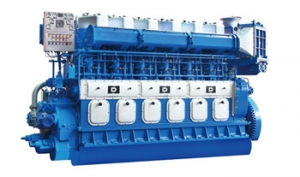Medium speed marine propulsion engine