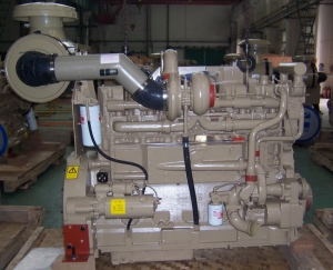 Cummins KTA19C600 diesel engine for